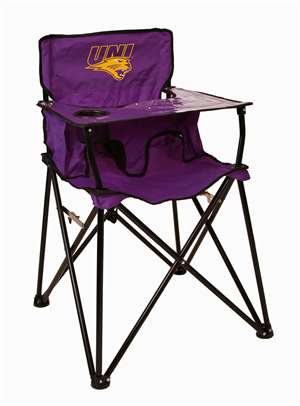 Northern Iowa University High Chair - Tailgate Camping