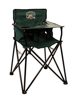 University of Ohio Bobcats High Chair - Tailgate Camping