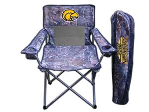 University of Southern Mississippi Eagles Realtree Camo Chair Tailgate Camping