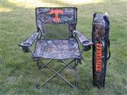 University of Tennessee Volunteers Realtree Camo Chair Tailgate Camping