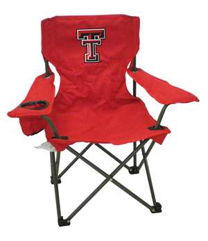 Texas Tech Junior ChairFolding Tailgate Camp Chair