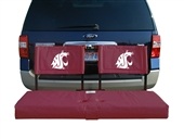 Washington State Tailgate Hitch Seat Cover with Cargo Carrier