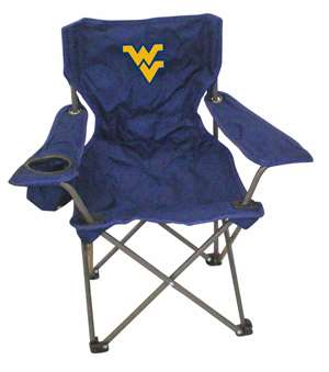 West Virginia Junior ChairFolding Tailgate Camp Chair