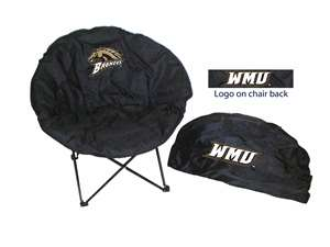 Western Michigan University Round Chair - Tailgate Camping Dorm