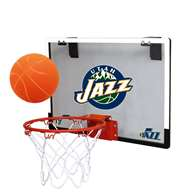 Utah Jazz Indoor Mini Basketball Goal Hoop Set
