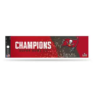 Tampa Bay Buccaneers  2021 Super Bowl  Champs Bumper Sticker