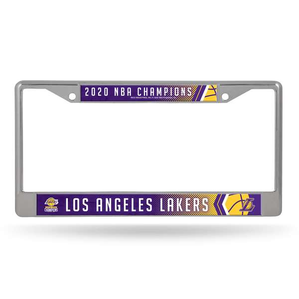 Los Angeles Lakers  2020 NBA Champions CHROME FRAME