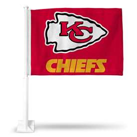 Kansas City Chiefs Rico Car Flag