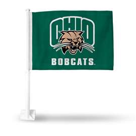 Ohio  Bobcats Rico Car Flag