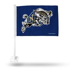 US NAVAL ACADEMY CAR FLAG