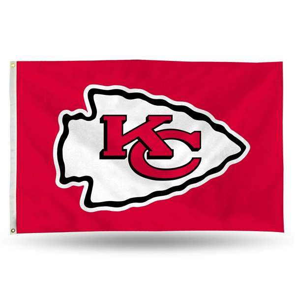 Kansas City Chiefs Rico 3 X 5 Banner Flag