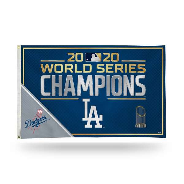 Los Angeles Dodgers 2020 World Series Banner Flag 3 X 5