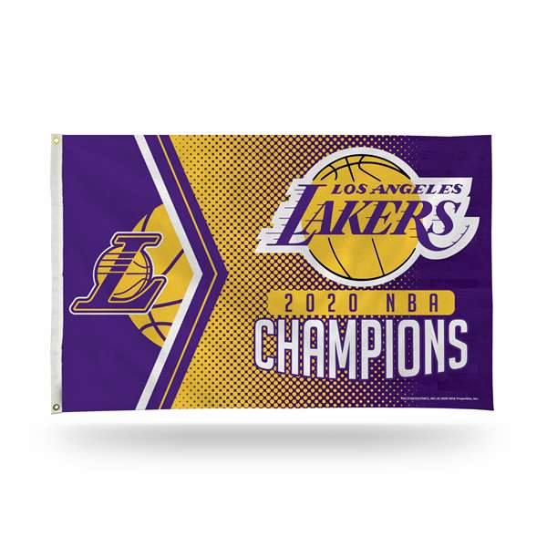 Los Angeles Lakers  2020 NBA Champions BANNER FLAG