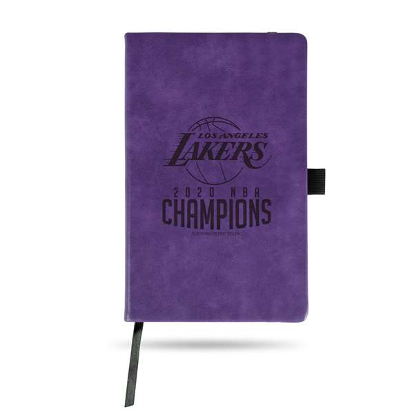 Los Angeles Lakers  2020 NBA Champions LE SMALL NOTEPAD - PURPLE