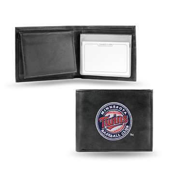 Minnesota Twins Rico Embroidered Bill-Fold Wallet