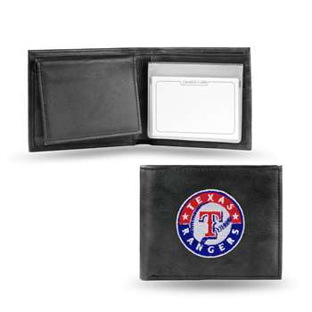 TEXAS RANGERS  Embroidered Billfold