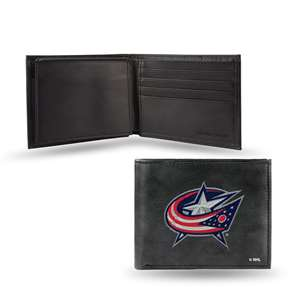 Columbus Blue Jackets Rico Embroidered Bill-Fold Wallet