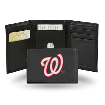 Washington Nationals Rico Embroidered Tri-Fold Wallet