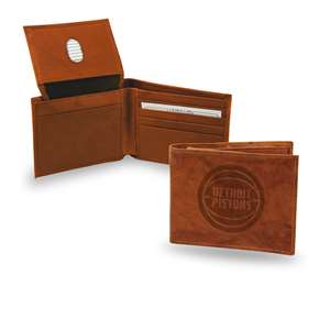 Detroit Pistons Rico Embossed Leather Bill-Fold Wallet