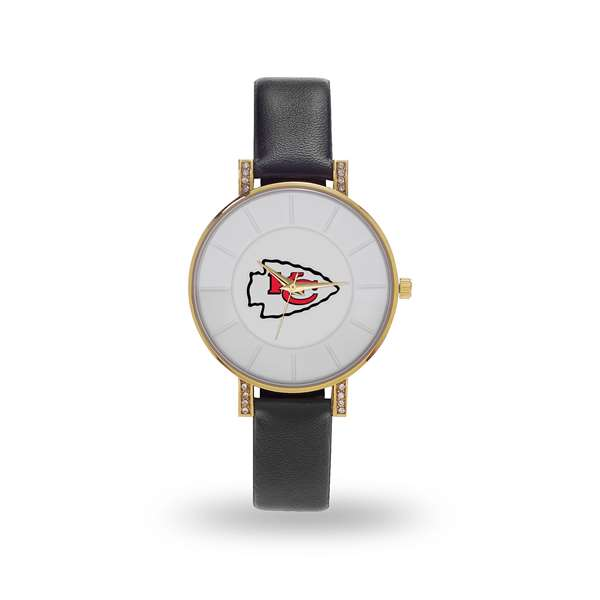 Kansas City Chiefs Sparo Lunar Ladies Women's Watch