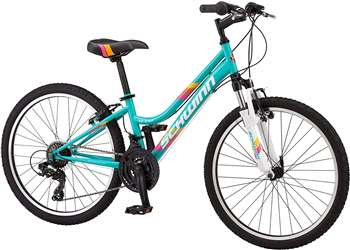Schwinn High Timber Mountain Bike, 7 Speed , Teal Women's