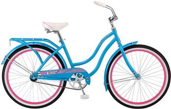 "Schwinn Girl's Cruiser Bike 24"" Wheel"