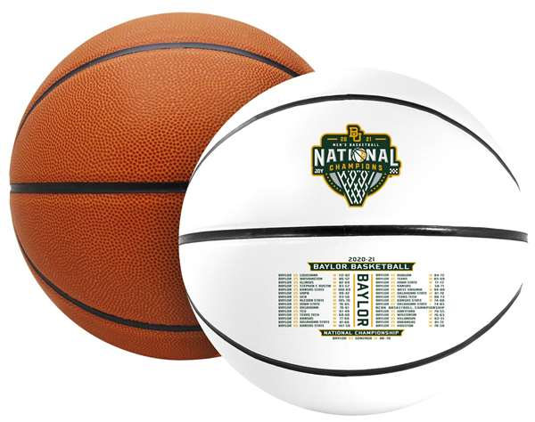 Baylor University Bears 2020-21 NCAA National Champions Basketball - Full Size
