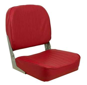 Springfield Economy Folding - Red  Boat Seat