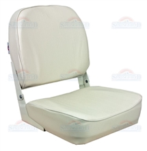 Springfield Fold-Down Boat Seat - White
