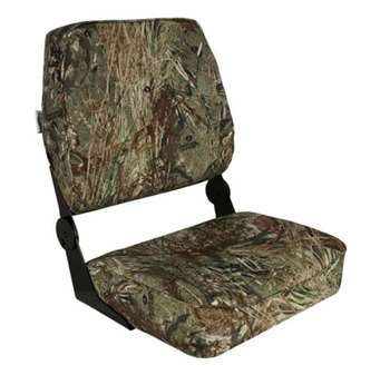 Springfield Big Man XXL Folding Seat - Mossy Oak Buck Blind  Boat Seat