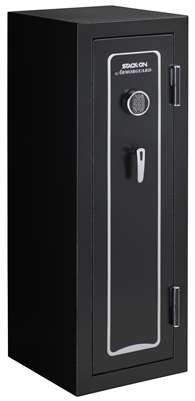 Stack-On A-18-MB-E-S 18-Gun, Electronic Lock, Matte Black