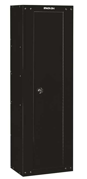 Stack-On GCB-8RTA-DS 8-Gun Ready to Assemble Security Cabinet, Black