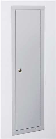 Stack-On IWC-55 Full Length In-Wall Cabinet, Beige
