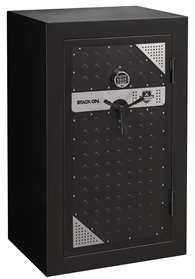 Stack-On TS-20-MB-E-S Tactical Fire Resistant Safe, Matte Black with Silver/Gray