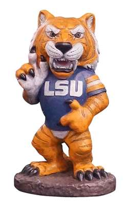 LSU Louisiana State University Tigers Mike The Tiger Painted Stone Mascot