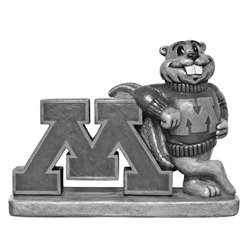 University of Minnesota Golden Gophers Vintage Finish Stone Mascot