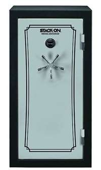 Stack-On TD14-22-SB-C-S Fire Resistant Waterproof Fully Convertible Total Defense Safe with Combination Lock, 22 Guns