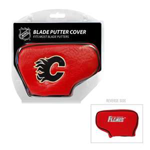 Calgary Flames Golf Blade Putter Cover 13301