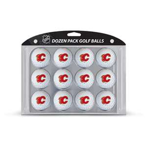 Calgary Flames Golf Dozen Ball Pack 13303