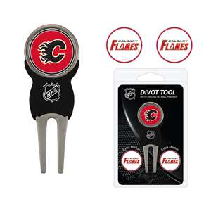 Calgary Flames Golf Signature Divot Tool Pack  13345