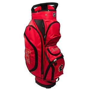 Calgary Flames Golf Clubhouse Cart Bag 13362