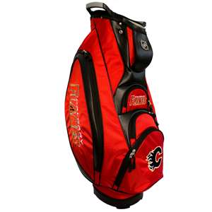 Calgary Flames Golf Victory Cart Bag 13373