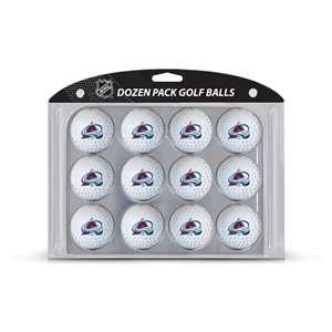 Colorado Avalanche Golf Dozen Ball Pack 13603