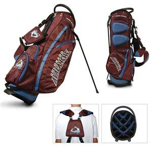 COLORADO AVALANCHE Golf FAIRWAY STAND BAG
