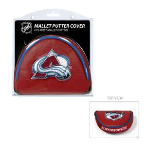 COLORADO AVALANCHE Golf Club Mallet Putter Headcover