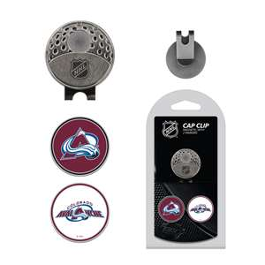 Colorado Avalanche Golf Cap Clip Pack 13647