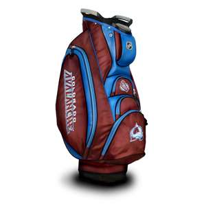 Colorado Avalanche Golf Victory Cart Bag