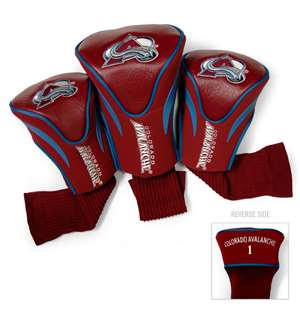 Colorado Avalanche Golf 3 Pack Contour Headcover 13694
