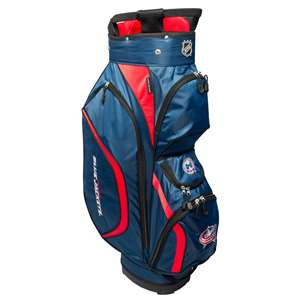 Columbus Blue Jackets Golf Clubhouse Cart Bag 13762