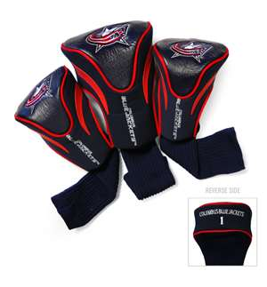 Columbus Blue Jackets Golf 3 Pack Contour Headcover 13794